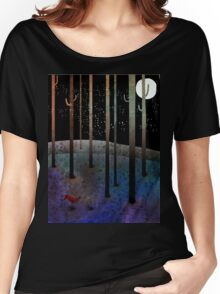Sweet Forest Women's Relaxed Fit T-Shirt