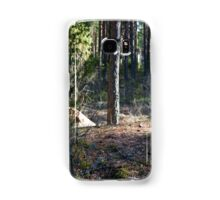 turn field road between the trees Samsung Galaxy Case/Skin