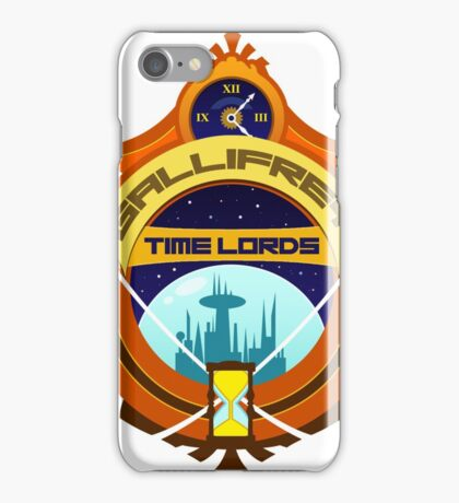 Gallifrey Timelords Sports Logo iPhone Case/Skin