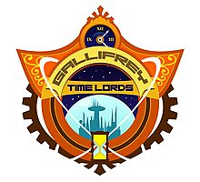 Gallifrey Timelords Sports Logo Photographic Print