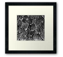 Pangolin Scales Framed Print