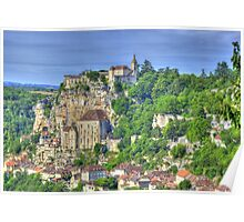 Rocamadour HDR Poster