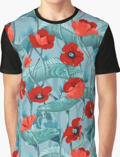 Barracuda - aqua Graphic T-Shirt