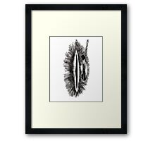 Eye of mordor Framed Print