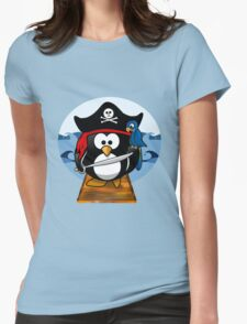 Pirate Penguin at Sea T-Shirt