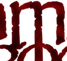 Lamb of God Logo Sticker