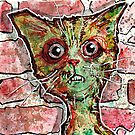 Chester the Zombie cat by byronrempel