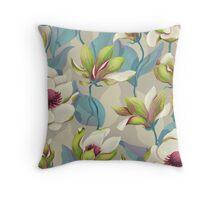 Magnolia Bloom - Twilight Throw Pillow