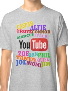 YOUTUBE STARS Classic T-Shirt