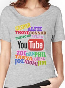 YOUTUBE STARS Women's Relaxed Fit T-Shirt