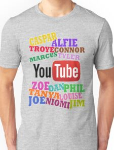 YOUTUBE STARS Unisex T-Shirt