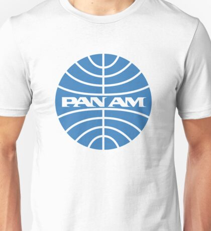 Pan am retro logo Unisex T-Shirt