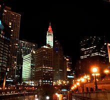 Chicago Riverwalk by Adam Bykowski