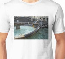 Almost Empty Spanish Steps in Rome Unisex T-Shirt