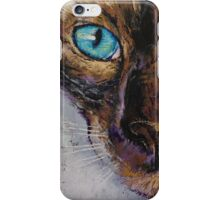 Siamese Cat Painting iPhone Case/Skin