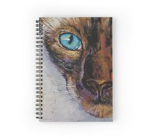 Siamese Cat Painting Spiral Notebook
