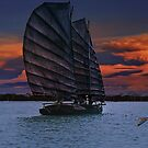 Sailing the African Coast by billfox256