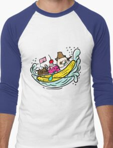 Banana Pirates Men's Baseball ¾ T-Shirt