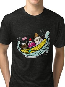 Banana Pirates Tri-blend T-Shirt