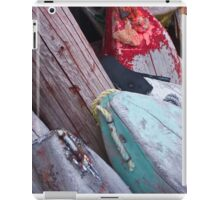 Buoys, Acadian Fishing Village iPad Case/Skin