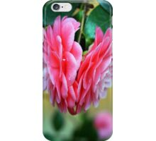 Back to Back Camellias iPhone Case/Skin