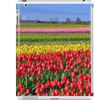 Colorul tulip farm iPad Case/Skin