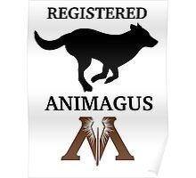 Registered Animagus (Dog) Poster