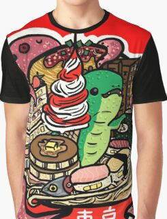 Tokyo Foodscape Graphic T-Shirt