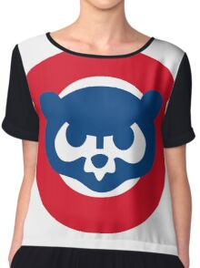 chicago cubs Chiffon Top