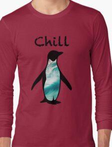 Chill Penguin Long Sleeve T-Shirt