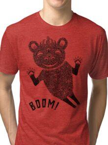Boom Bear Tri-blend T-Shirt
