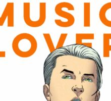 Banished Kree Music Lover Sticker