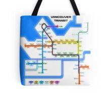 Vancouver Transit Network Tote Bag