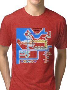 Vancouver Transit Network Tri-blend T-Shirt
