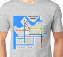 Vancouver Transit Network Unisex T-Shirt