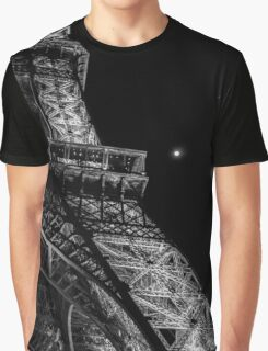Eiffel Tower by night Graphic T-Shirt