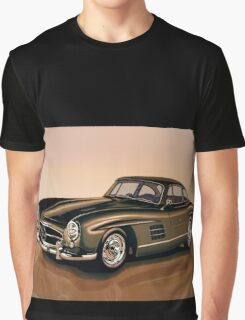Mercedes Benz 300 SL Painting Graphic T-Shirt