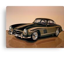 Mercedes Benz 300 SL Painting Canvas Print