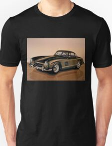 Mercedes Benz 300 SL Painting Unisex T-Shirt