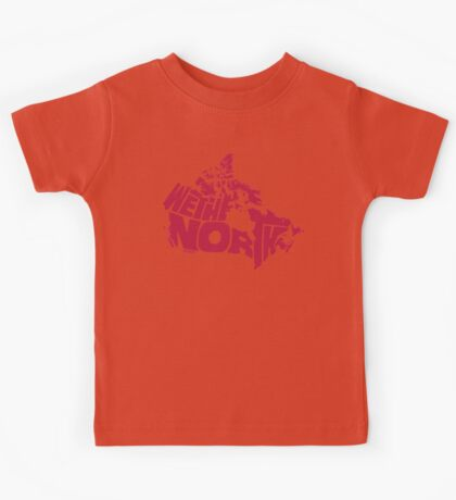We The North (Red) Kids Tee