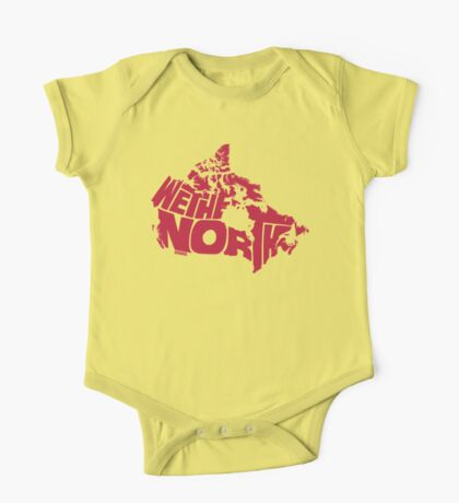 We The North (Red) One Piece - Short Sleeve