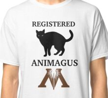 Registered Animagus (Cat) Classic T-Shirt