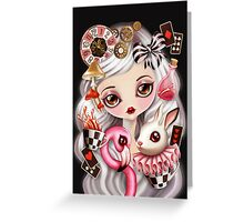 Through Her Eyes Greeting Card