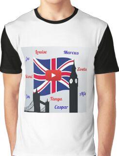 British Youtubers Graphic T-Shirt