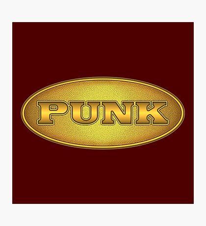 Golden Punk Photographic Print
