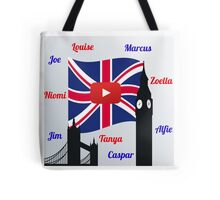 British Youtubers Tote Bag