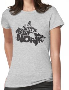We The North (Black) Womens Fitted T-Shirt