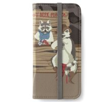 Raccoon Saloon iPhone Wallet/Case/Skin