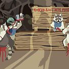 Raccoon Saloon by matterdeep