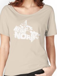 We The North (White) Women's Relaxed Fit T-Shirt